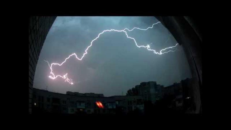 Lightening (04.07.2017) Kherson, Ukraine.