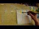 Рисуем с Зинаидой Голубевой. Летний пейзаж. Отражение в воде.
