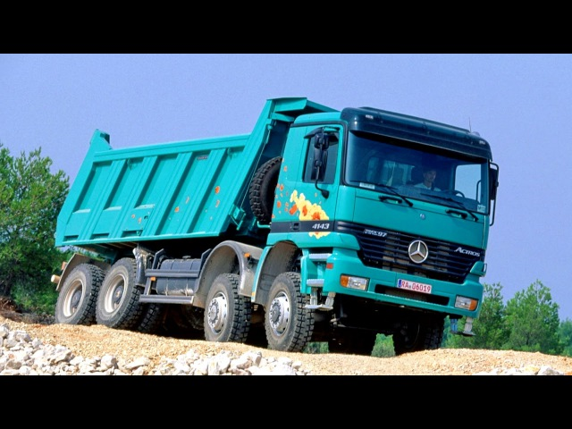 Mercedes Benz Actros 4143 AK Meiller Hinterkipper MP1 04 1997 10 2002