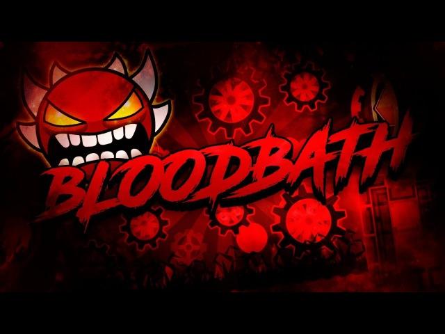 Geometry Dash 2.1 - NewBuffedHarder Bloodbath (Impossible Demon) de Riot y ya xD (Hackeado)