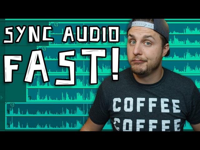 Sync Audio SUPER FAST in Adobe Premiere