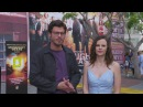 NBC's Midnight, Texas Francois Arnaud Sarah Ramos SDCC SOUNDBITE
