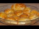 Самые нежные слоёные пирожки булочки