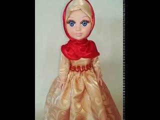 Кукла Моя Амина читает 9 сур из Священного Корана и все дуа из намаза (субханакэ,...