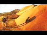 Watercolor Sahara Desert Painting Demonstration