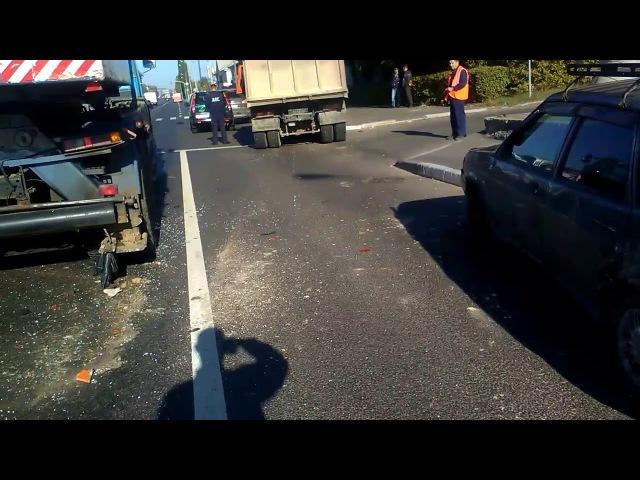 Страшная авария Нижний Новгород Я в шоке