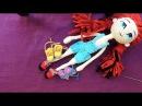COMO TEJER ZAPATILLAS para Muñeca a Crochet - Modelo 3 - Parte 1/2