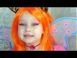 Алиса превратилась в ВИНКС !!! Стелла и Блум аквагрим и костюмы Stella and bloom face painting