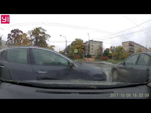 Авто ДТП Замшина, Металлистов Opel Astra G - Kia Oprima. 1:15
