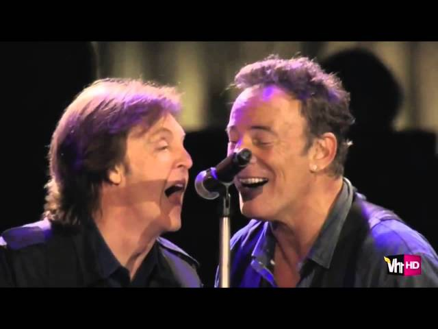 Paul McCartney Bruce Springsteen - I Saw Her Standing There Twist And Shout