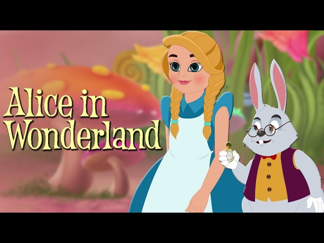 Alice in Wonderland Full Movie Animated Fairy Tales Bedtime Stories For Kids