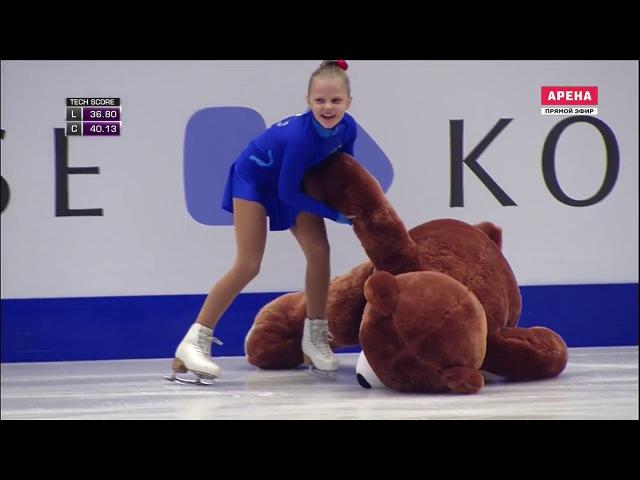 Анна Погорилая Чемпионат Европы 2017 КП 2 74 39
