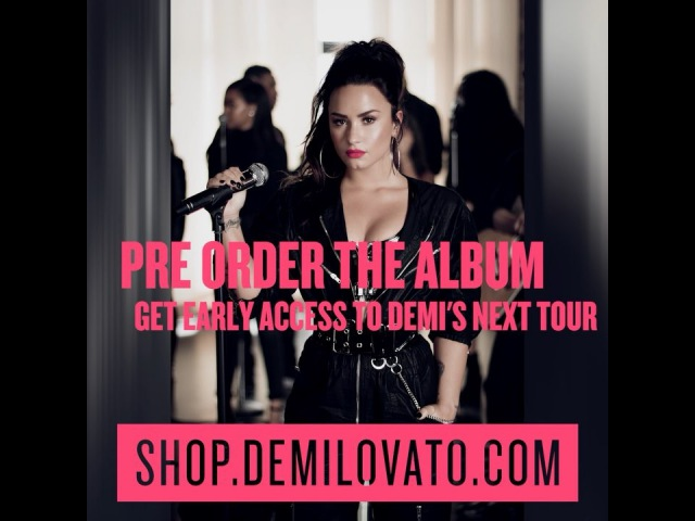Who's pre-ordered TellMeYouLoveMe at shop.demilovato.com already?? You'll get early access to tour tickets for the US shows if