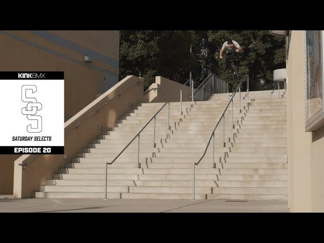 Dan Coller Titan Promo Raw Clips Part 1 - Ep. 20 Kink BMX Saturday Selects insidebmx