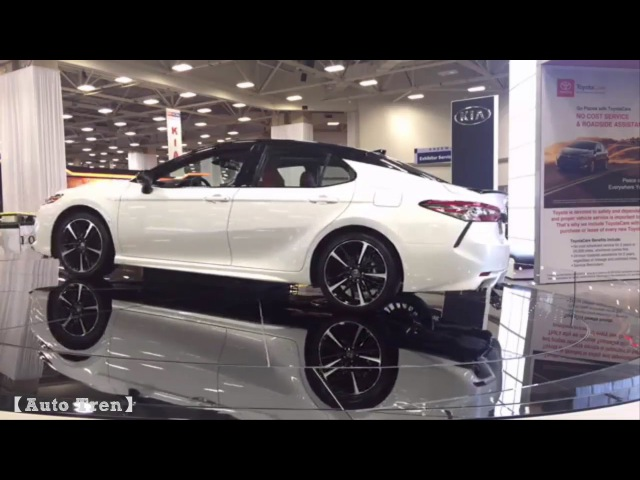 The 2018 Toyota Camry at the DFW Auto Show
