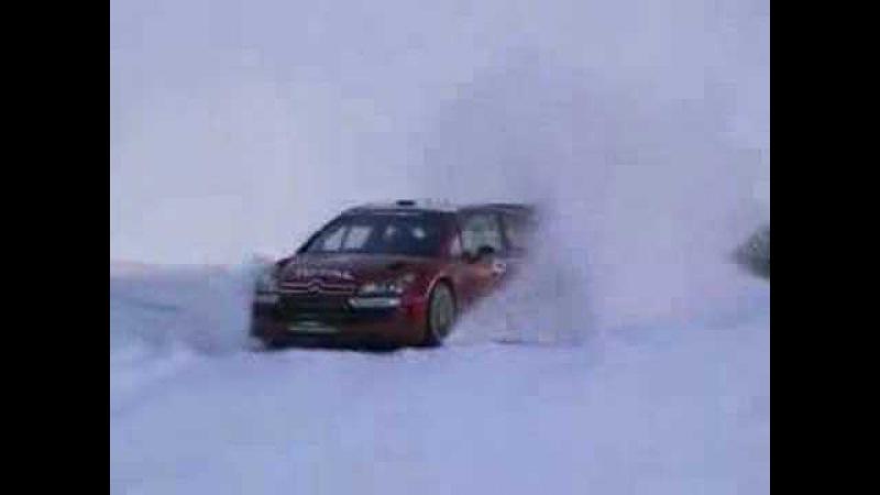 WRC LOEB Test C4 MC 2007
