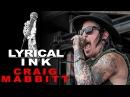Tattoos and Music - Craig Mabbitt | Lyrical Ink