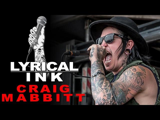 Tattoos and Music Craig Mabbitt Lyrical Ink