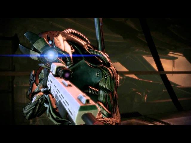 Mass Effect 2 шот на подовие интро