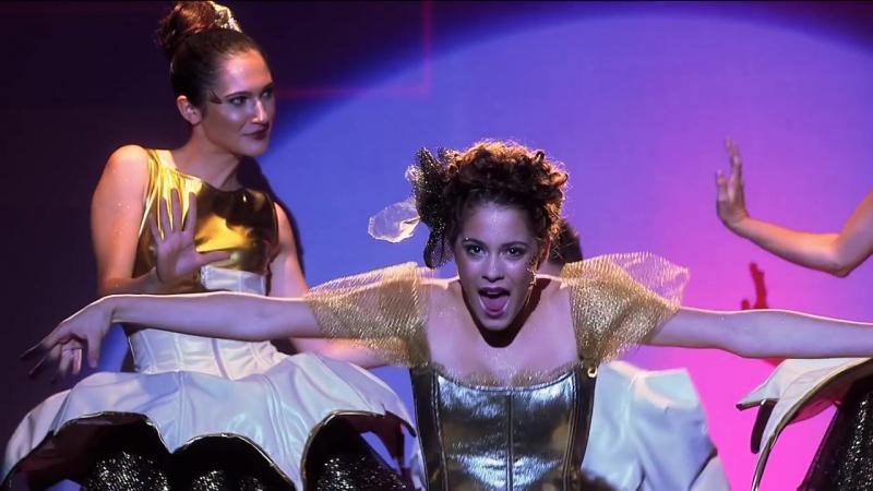 Violetta- Momento Musical - Escena final del show ¨Te creo¨ || Виолетта, Франческа, Камилла
