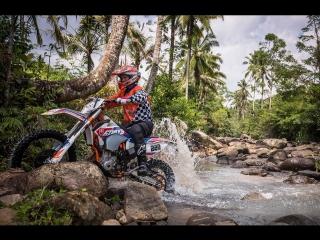 Мотокросс на Бали: по склонам вулканов, пляжам и рисовым полям на кроссовом байке