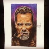 My Art \Arnold Schwarzenegger \ @dmitrysweetpaintattoo
