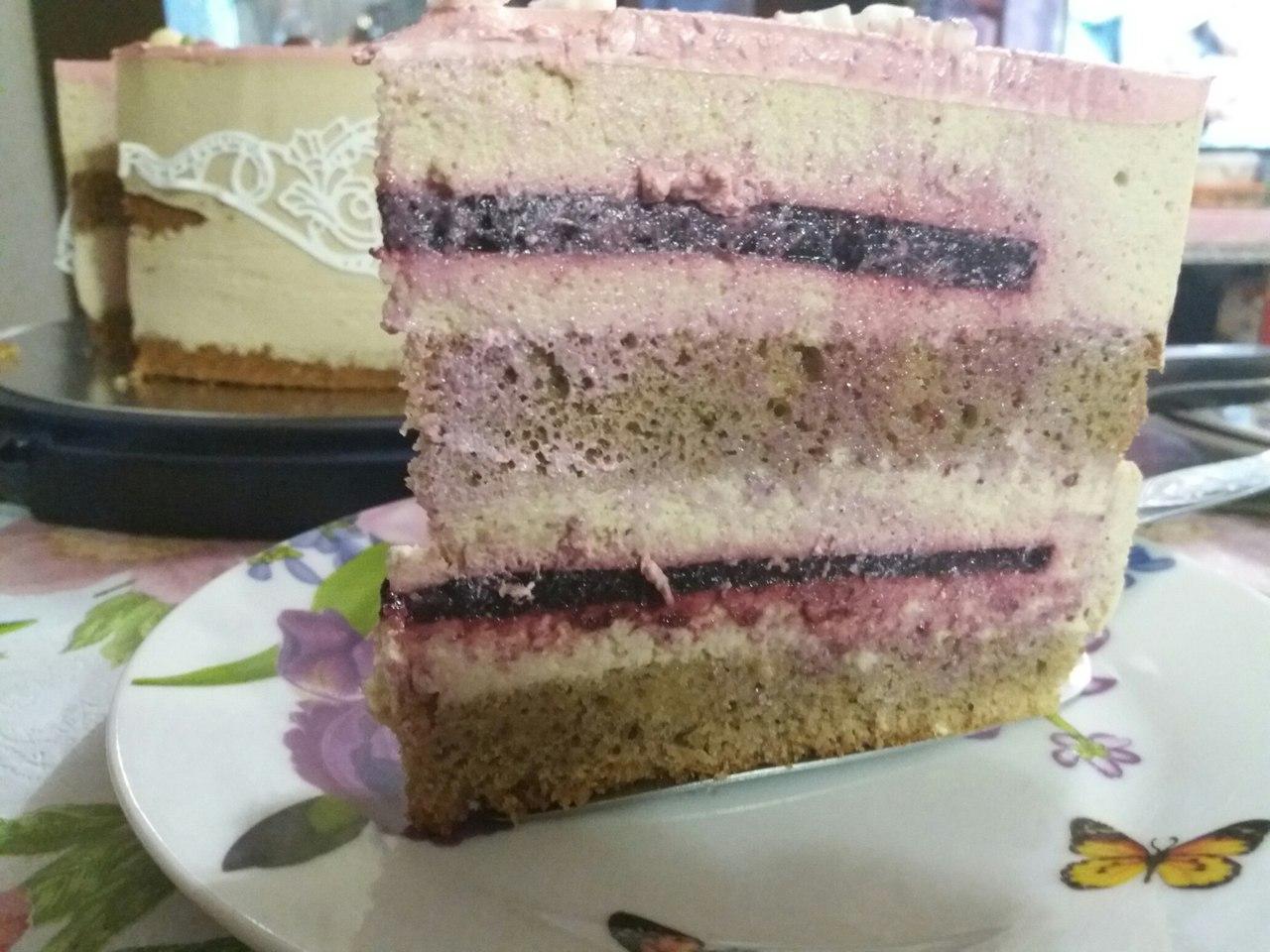 Торт Кофе - карамель