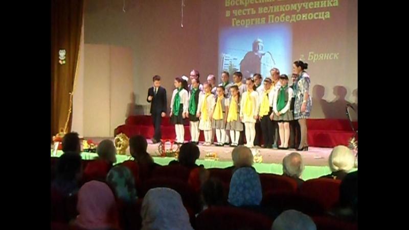 Выступление вакальной группы нашей Воскресной школы