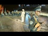 Президентский оркестр и рота Почётного караула Президентского полка «Айбын»