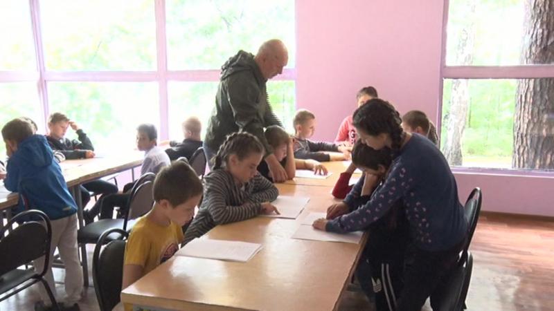 Школа чтения на озере Увильды. Лето 2017.