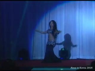 Yulianna Voronina - sensational belly dance Drum Solo (رقص شرقي مصري) Oriental 4788