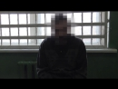 Допрос  одного из задержанных украинских диверсантов, подозреваемых в убийстве депутатов Народного Совета ЛНР
