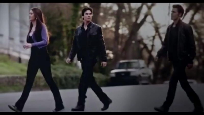 Don't be stupid that girl is with the salvatore brothers