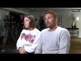 Le fidele avec Adele Exarchopoulos et Matthias Schoenaerts - Coulisses emission