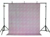 LIFE MAGIC BOX Linen Cotton Material Washable Pink Tablecloth Photo Backdrops Cool Backgrounds for Photo Studio