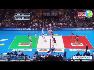 The Best Slovenian Volleyball Player - Tine Urnaut - TOP 10 Volleyball Actions