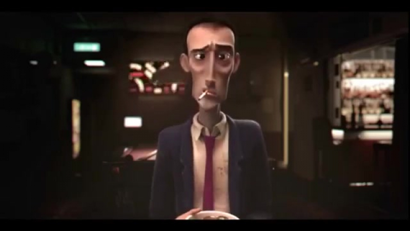 Короткометражный мультфильм Игровая зависимость