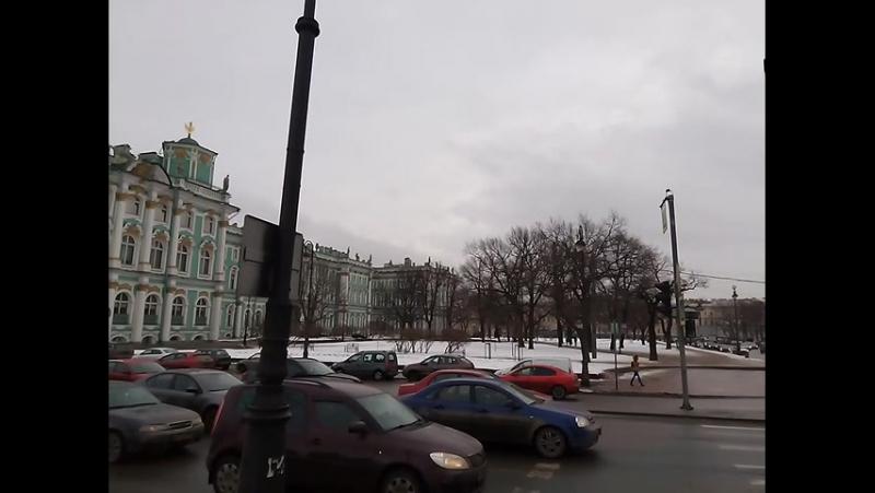 Дворцовая набережная_Дворцовый мост