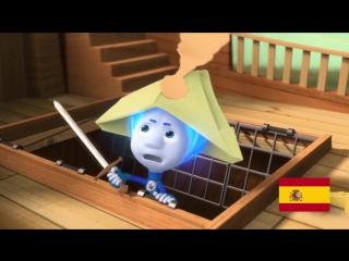 Фиксики - «Кораблик - вокруг света!» Фиксики на разных языках