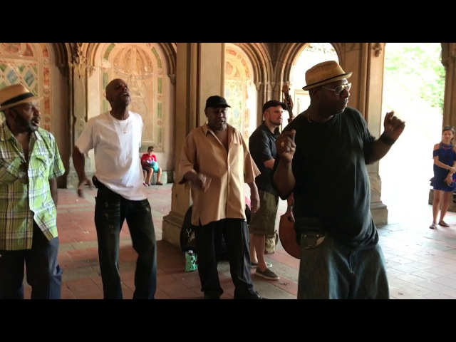 "Must-see! ""Stand by Me"" Cover Story (Acapella Soul) Wonderful!New York Central Park"