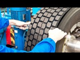 Repairing and Retreading $1000 Tires - Extreme Rebuilding Airless Tires by Petes Tire Barns