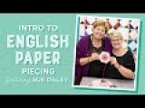 Intro to English Paper Piecing with Jenny Doan &amp Sue Daley