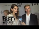 Kaia Gerber Talks Walking in First Runway Show at NYFW | E! Live from the Red Carpet