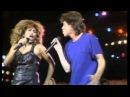 Mick Jagger & Tina Turner ☮ State Of Shock & It's Only Rock 'n Roll (1985) Мик Джаггер и Тина Тёрнер