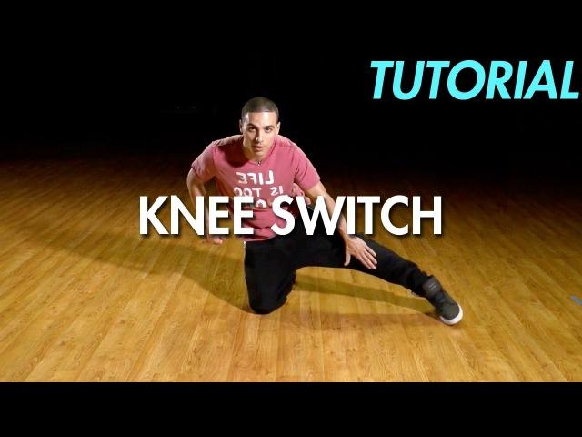 How to Knee Switch (Hip Hop Dance Moves Tutorial: Breakdance) | Mihran Kirakosian