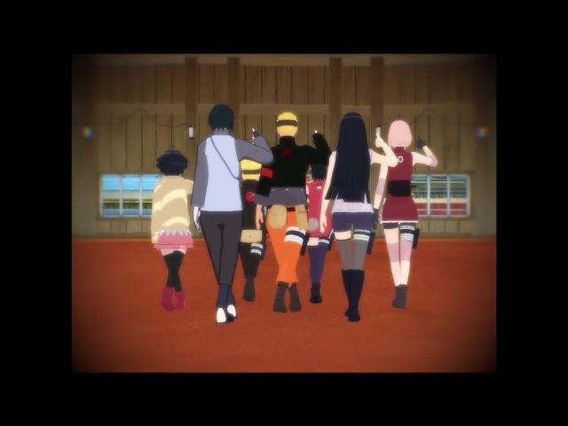 【MMD】Naruto-Dope《SasuSaku、NaruHina Family》