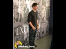 Martin Garrix posing for the cameras at Armani Exchange special event in New York [Oct. 11]