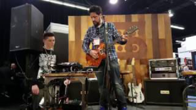 PART II: NAMM 2017 in 4k: Doug Rappoport at the Seymour Duncan Booth