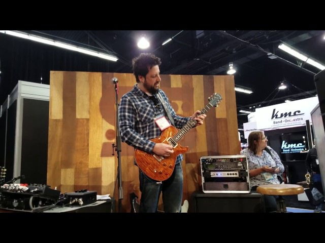 NAMM 2017 in 4k: Doug Rappoport at the Seymour Duncan Booth