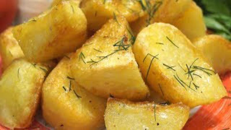 Идеальный картофель, Хрустящая корочка и нежное пюре внутри. Весь секрет в мале ...
